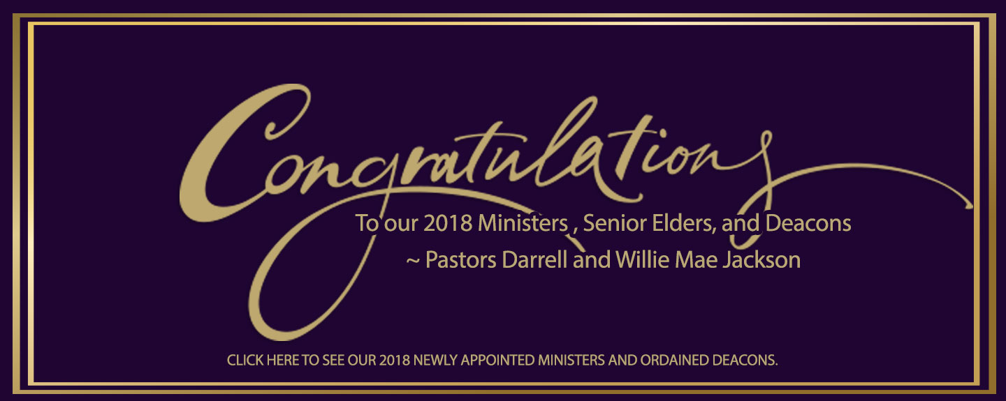 Congrats to New Clergy