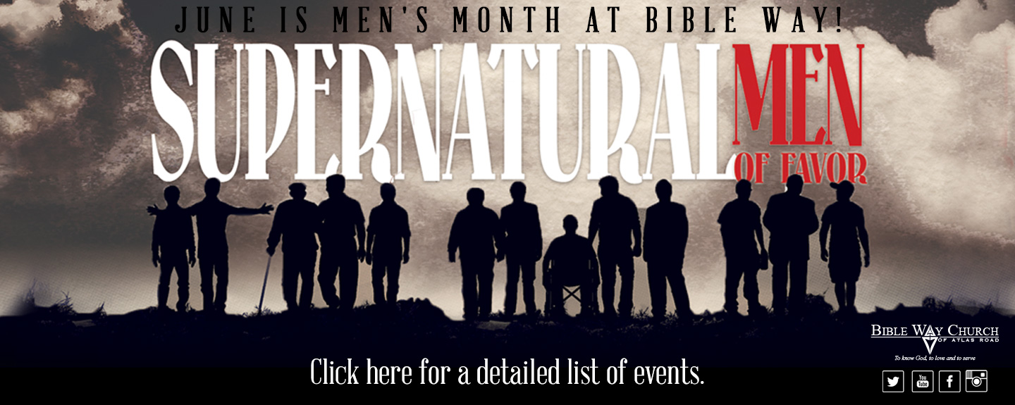 Men's Month at Bible Way